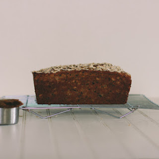 Maple Oatmeal Bread with Cacao Nibs