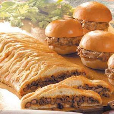 Beef 'n' Bean Braid