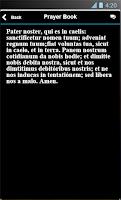 Screenshot of Mobile Prayer Book
