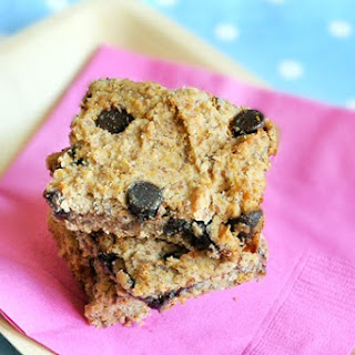 Chocolate Chip Chickpea Blondies