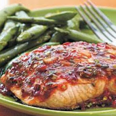 Chile Garlic BBQ Salmon