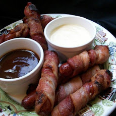 Smoky BBQ Bacon-Wrapped Dogs