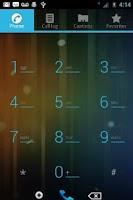 Screenshot of ICS Blue CM7 Theme