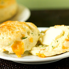 Cheddar, Jalapeño and Chive Biscuits
