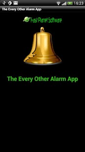 The Every Other Alarm App - screenshot