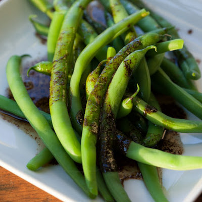 Green Beans with Balsamic Browned Butter