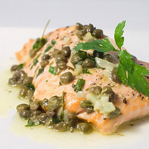 Tilapia with Lemon-Caper Sauce