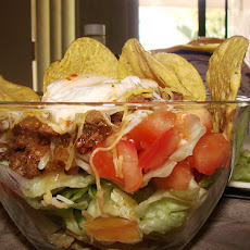 Festival Layered Taco Salad