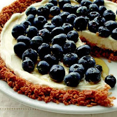 Blueberry Yogurt Pie with Granola Crust Recipe