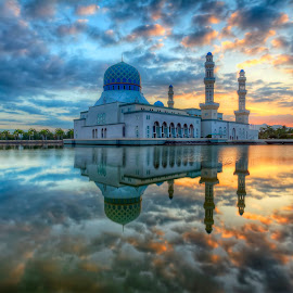 Mosque Reflection by Johan Wan - Buildings & Architecture Places of Worship (  )