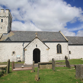 St Mary's Church, Pennard, Swansea by John Davies - Buildings & Architecture Places of Worship ( pennard, john davies, st mary's church, st, swansea, mary's church, st mary's church pennard )