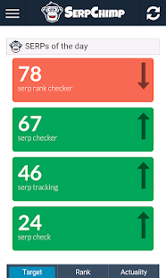 Serp Chimp SEO Keyword Checker - screenshot