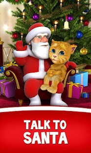 Free Talking Santa meets Ginger + APK for Windows 8