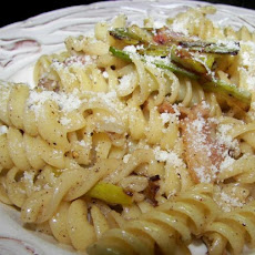 Pasta With Leek & Bacon