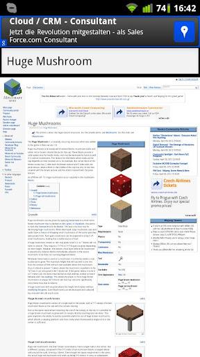 Minecraftwiki Browser