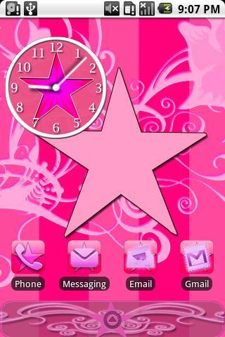 Star Theme Pink