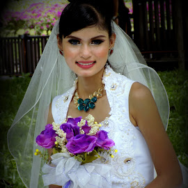 by Wan Azizul Azar Aziz - Wedding Bride