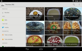 Screenshot of Recetas Thermomix