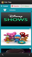 Screenshot of Kids Tube