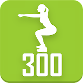 Free 300 Squats workout Be Stronger APK for Windows 8