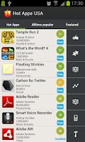 Screenshot of Hot Apps