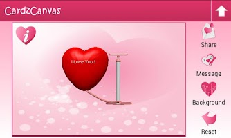 Screenshot of LoveCardz-Romantic Cards
