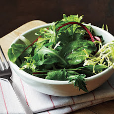 Greens and Sherry Vinaigrette