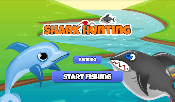 Shark fishing apk 1 0 free sports games for android for Shark fishing games