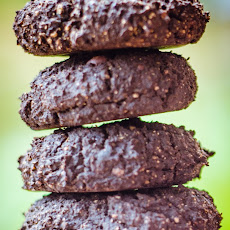 Healthy Darkest Double Chocolate Flourless Cookie Bites