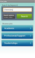 Screenshot of jobs.ac.uk Jobs