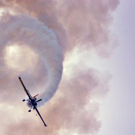 Airshow and Spiraling Plane by Lux Aeterna - Sports & Fitness Other Sports