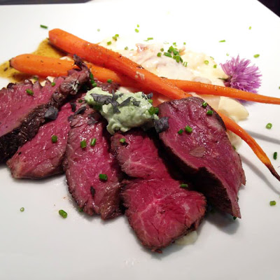 Vivian's Tenderloin (or Hanger or Sirloin) Steak