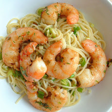 Lemon Linguine with Cajun Shrimp