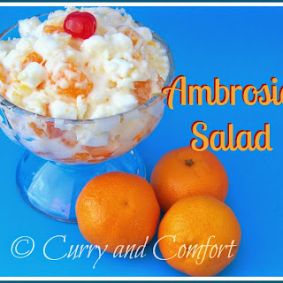 Ambrosia Salad Sour Cream Recipes