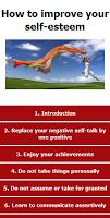 Screenshot of Improve your self-esteem
