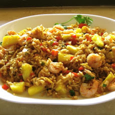 Thai Pineapple Shrimp Fried Rice