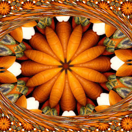 Autumn by Joanne West - Digital Art Abstract