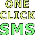 One Click SMS Demo icon