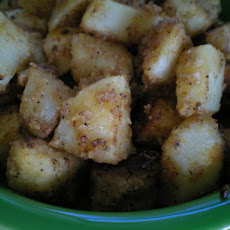 Golden Diced Potatoes
