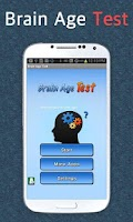 Screenshot of Brain Age Test - Pro.