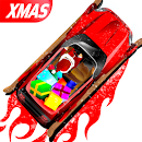 Red Fury Xmas: Santa Road Rage icon