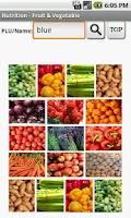 Screenshot of Nutrition–Fruits & Vegetables