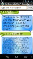Screenshot of Pandorabots Louise Cypher