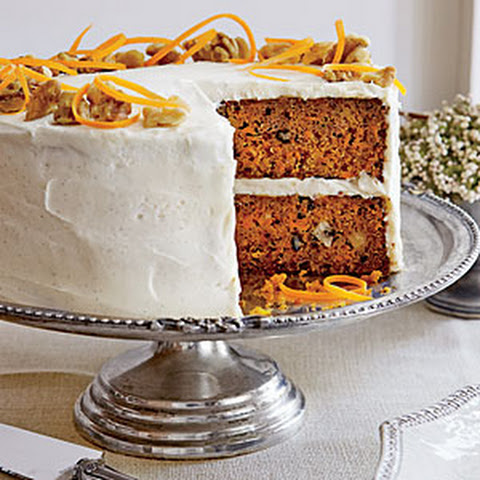 Carrot Cake with Chèvre Frosting