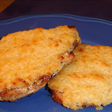 Wildfire Horseradish Crusted Pork Chops