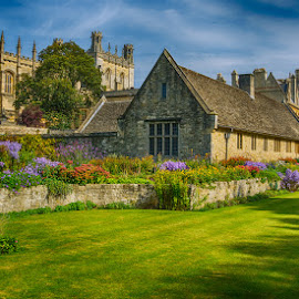 Christ Church by Krasimir Lazarov - Buildings & Architecture Places of Worship ( uk, church, christ church college, college, buildings, oxford, architecture, city )