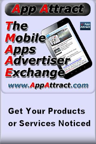AppAttract Mobile Phone Advert