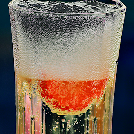 Sparkling Wine Bubbles by Phil Le Cren - Food & Drink Alcohol & Drinks ( wine, drink, bubbles, sparkling wine bubbles, sparkling wine )