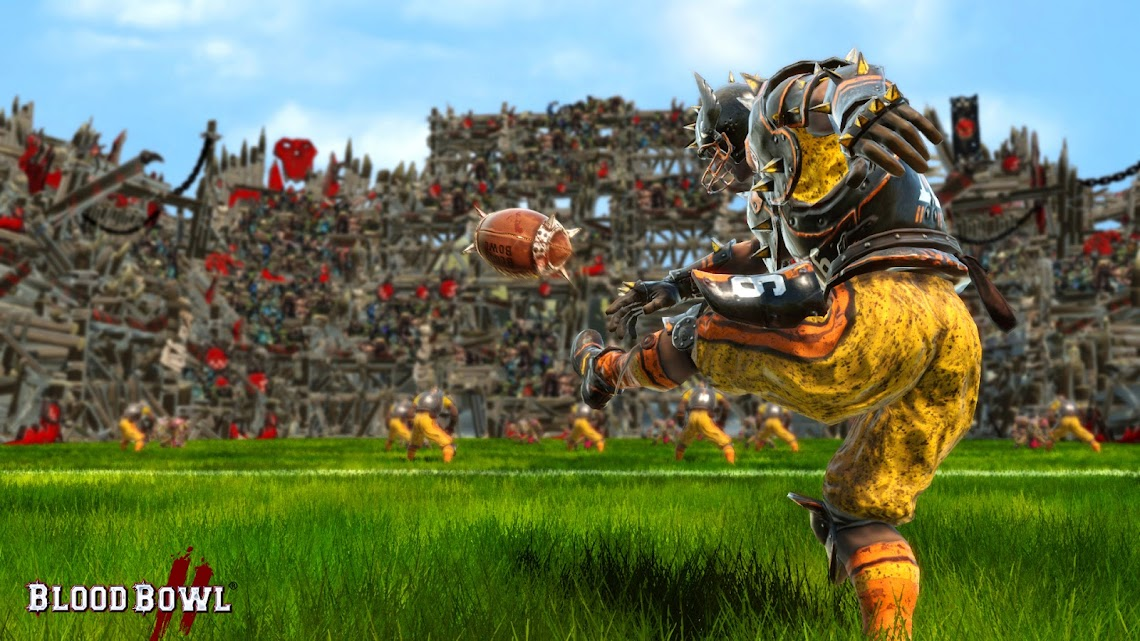 First Blood Bowl 2 screenshot blitz onto the net