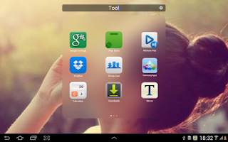 Screenshot of Cool Launcher (flat style)